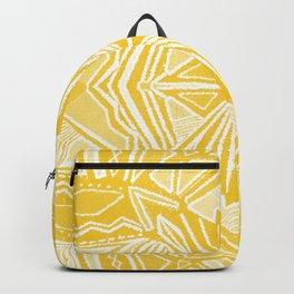 Solana, fall golden mandala Backpack