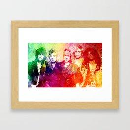 GNR color full Framed Art Print