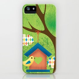 BIRD HOUSE iPhone Case