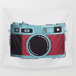 Little Yashica Camera Wall Tapestry