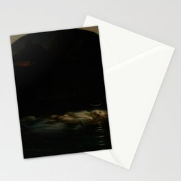 Paul Delaroche - The Christian Martyr Stationery Cards