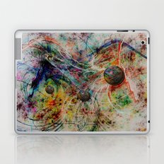 painting marbles Laptop & iPad Skin