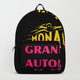 Monaco 1961 Grand Prix Backpack