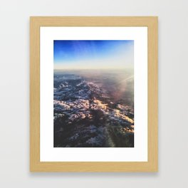Floating Above Framed Art Print