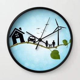 Eco life concept Wall Clock