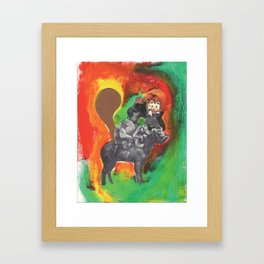 jamaican Framed Art Print
