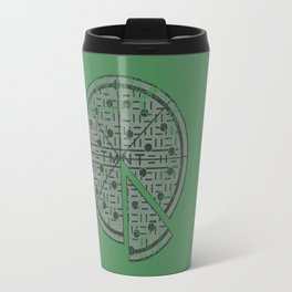Slice of sewer life Travel Mug