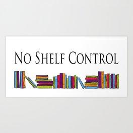 No Shelf Control Wrap Around Art Print