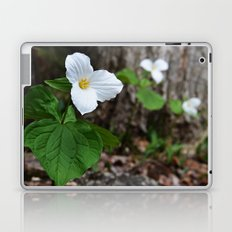 Trilliums  Laptop & iPad Skin