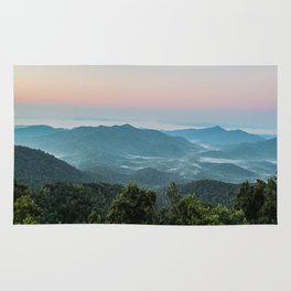 The Morning Mists Rug