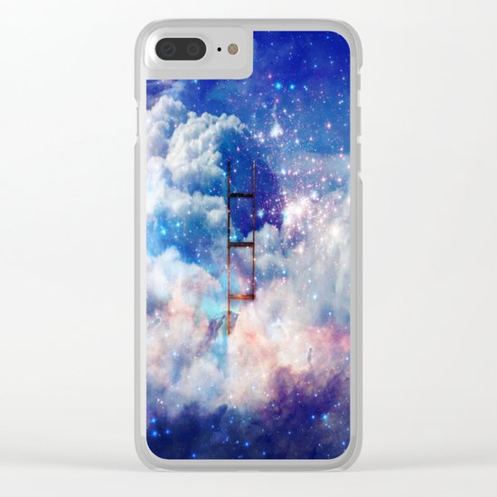 Jacob's Ladder in a Deep Dream Clear iPhone Case