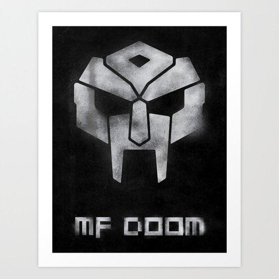 Megavillain Art Print