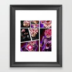 dragon ball super Framed Art Print