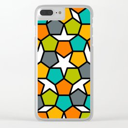 Stella Geode Closeup Clear iPhone Case