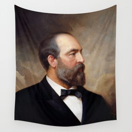 President James Garfield Wall Tapestry