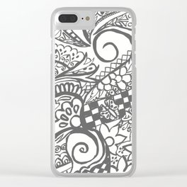 Henna inspirations Clear iPhone Case