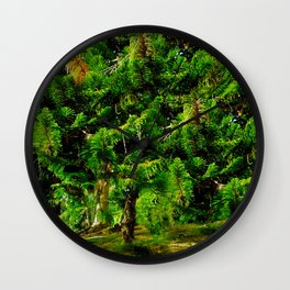Magic of Trees Wall Clock