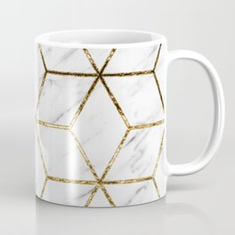 Gatsby golden marble Coffee Mug