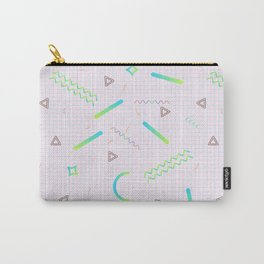 Memphis Pattern #1 Carry-All Pouch