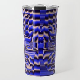 Interference Pattern Travel Mug