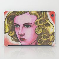 ginger iPad Cases featuring Ginger by Anna Gogoleva