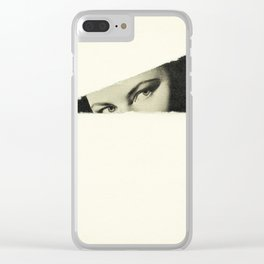 Hideaway Clear iPhone Case
