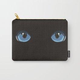 Black Ninja Cat Carry-All Pouch