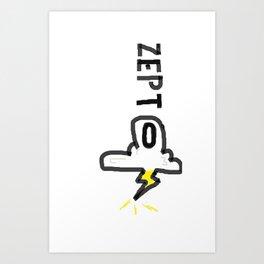 Zepto 2 Art Print