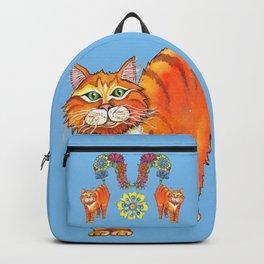 Classy Cat Chloe (Blue) Backpack
