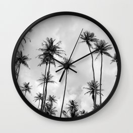 Palm-tree Wall Clock