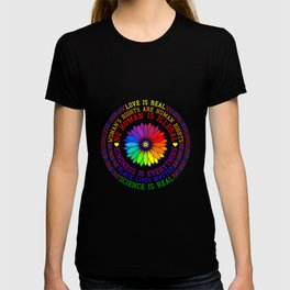 Science Is Real - Black Lives Matter Gift T-shirt