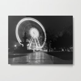 Budapest Wheel. Metal Print