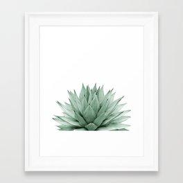 Agave Green Summer Vibes #1 #tropical #decor #art #society6 Framed Art Print