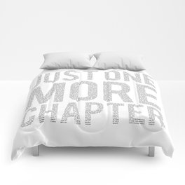 Just One More Chapter Comforters