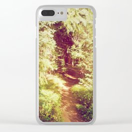 Come to the Secret Place Clear iPhone Case