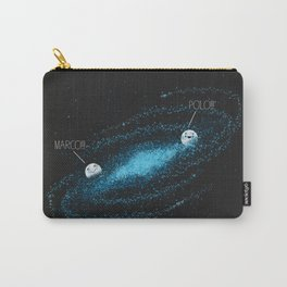 Playing Games in the Milky Way Carry-All Pouch