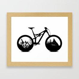 Enduro Framed Art Print