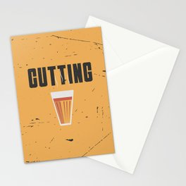 Funny Cutting Chai Tea Hindi Quote Stationery Cards
