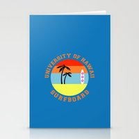 hawaii Stationery Cards featuring Hawaii by lescapricesdefilles