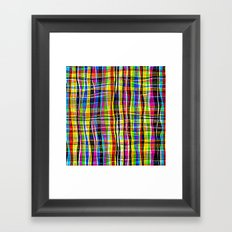 Madras Framed Art Print