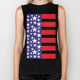 Flag of the United States of America. USA #society6 #decor #buyart #artprint Biker Tank