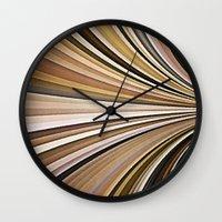 sand Wall Clocks featuring Sand by Losal Jsk