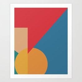 Cacho Shapes LXXXV Art Print