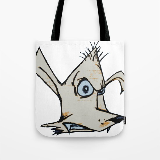 Skanking Wolf (head only) Tote Bag