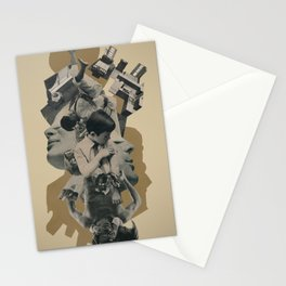 the pain of avoiding suffering Stationery Cards