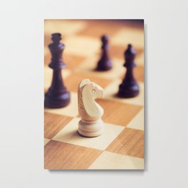 A Gift for the King Metal Print