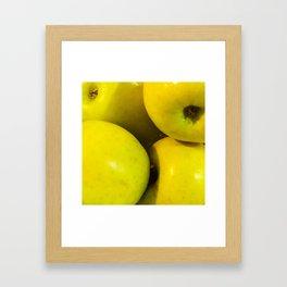 Manzanas Framed Art Print