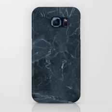 Dark blue marble texture Slim Case Galaxy S7