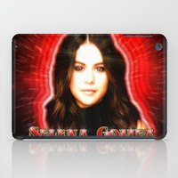 selena iPad Cases featuring Dedication #1 - Selena Gomez #1 by InnerSymbiance