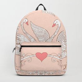swans with love Backpack